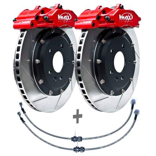2 Bremsscheiben /Ø345 Bel/üftet Bremsbel/äge ATE P-A-02-00443 Bremsanlage