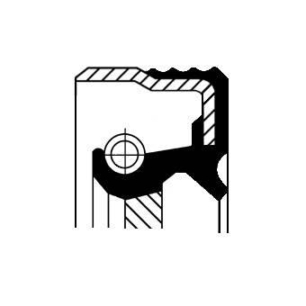 Wellendichtring, Differential Corteco 12015267B