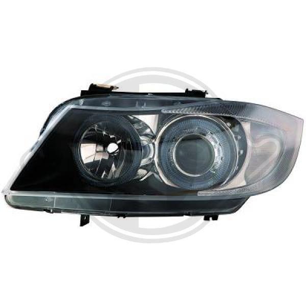 Scheinwerfer Angel Eyes klar/schwarz BMW 3er E90 E91 05-08 Diederichs