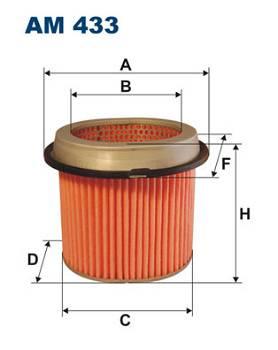 Luftfilter Filtron AM 433