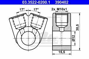 Ringstutzen, Rohrleitung ATE 03.3522-0200.1