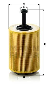 Ölfilter MANN-FILTER HU 719/7 x