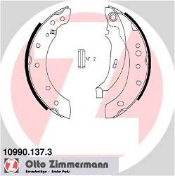 Bremsbackensatz, Feststellbremse Hinterachse Zimmermann 10990.137.3